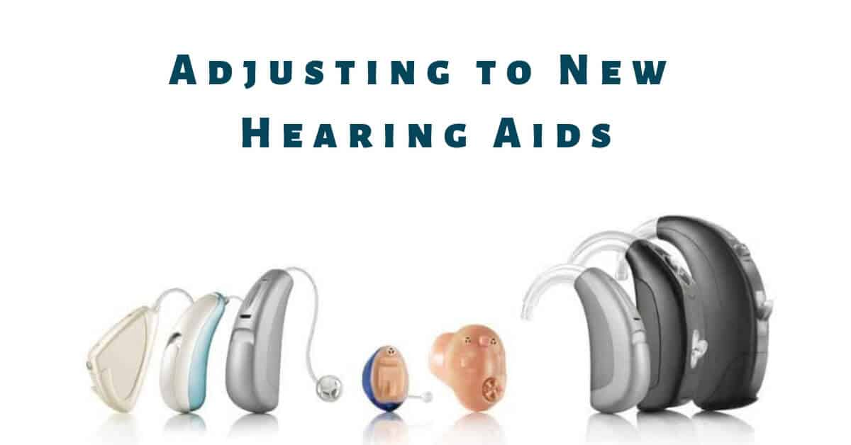 adjusting to new hearing aids poster