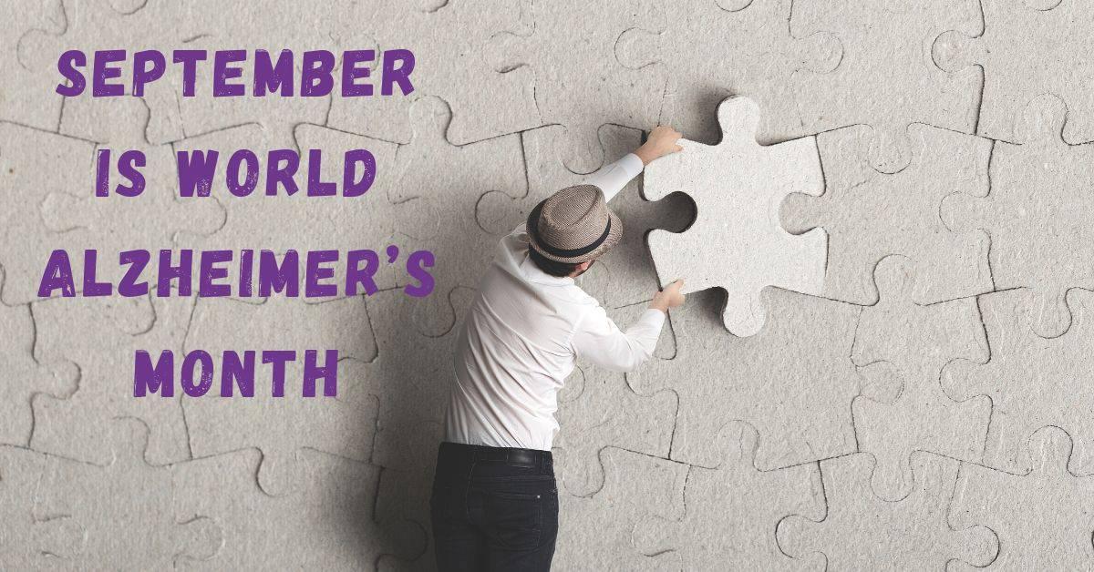 alzheimer's awareness month poster